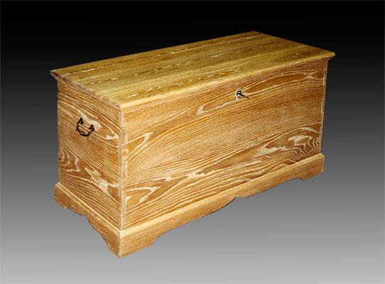 Bottega di restauro lavorazione del legno for Cassapanca rovere